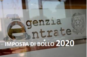 imposta bollo 2020 conservazione sostitutiva